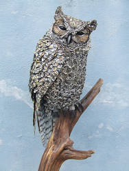 Horned Owl by mattcummings