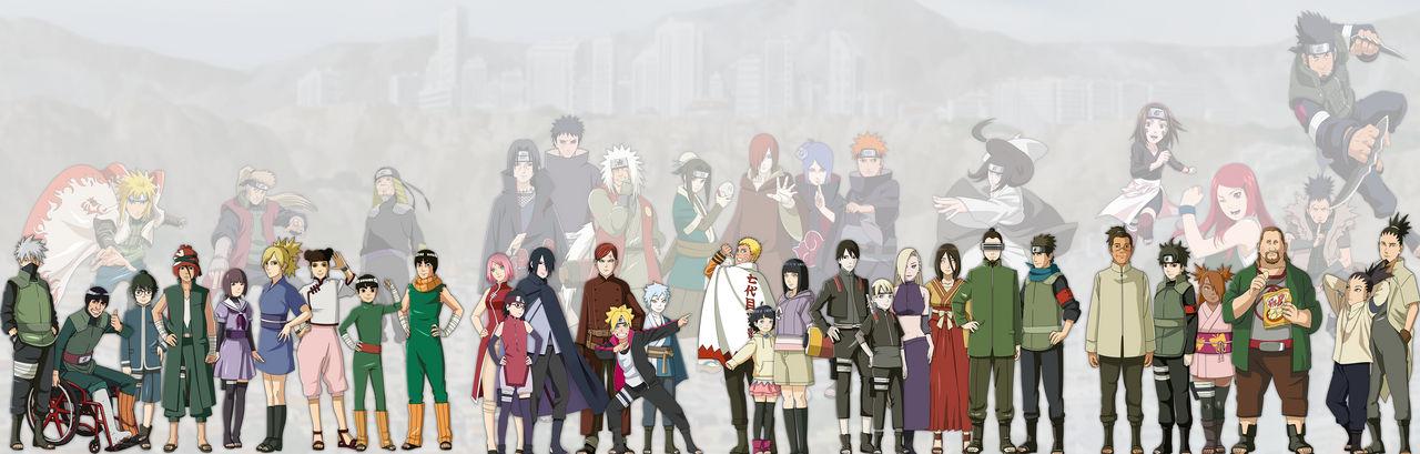 Naruto to Boruto Triple Monitor Wallpaper by Speedkomodo ...
