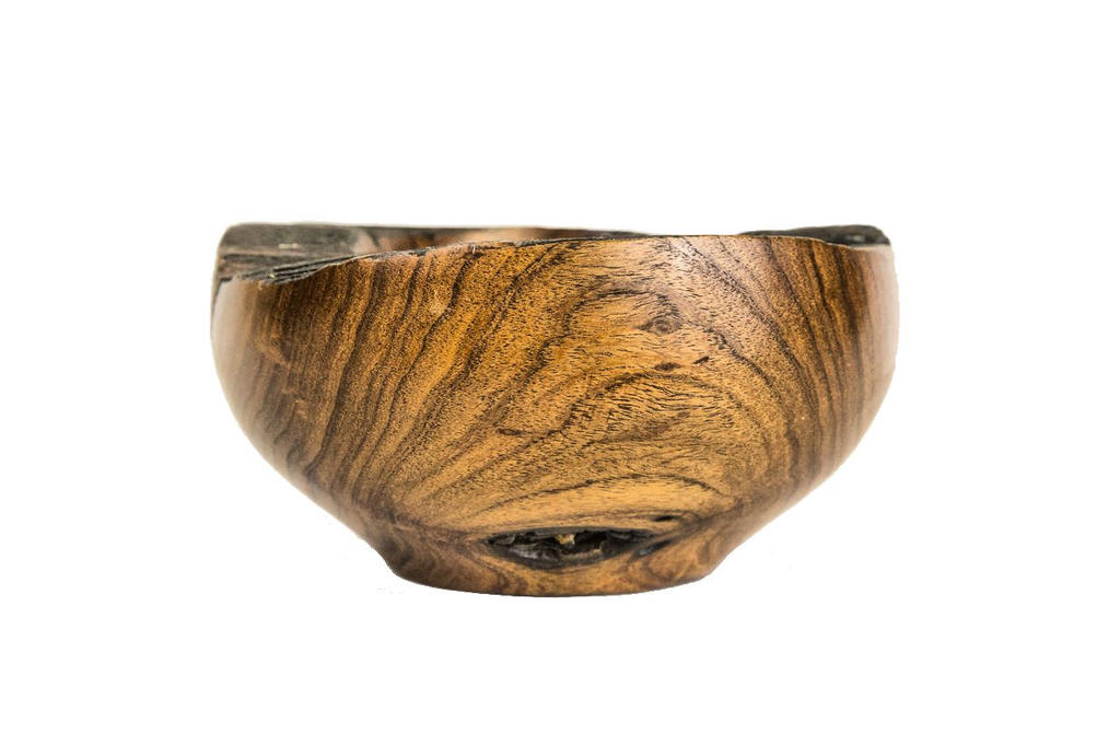 Mesquite Bowl  Side View  By TokiiWorks by TokiiWorks
