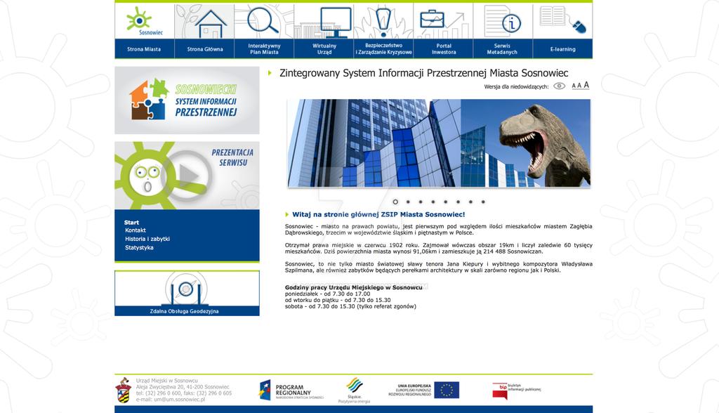 SIP Sosnowiec Web Design by agataszewczyk