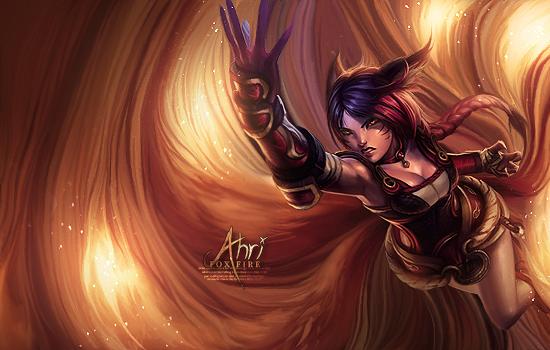 Foxfire Ahri by DivineSaga