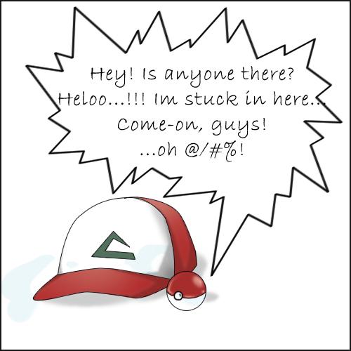 Pokemon: Ash - Lemm'e out ... by chicky2