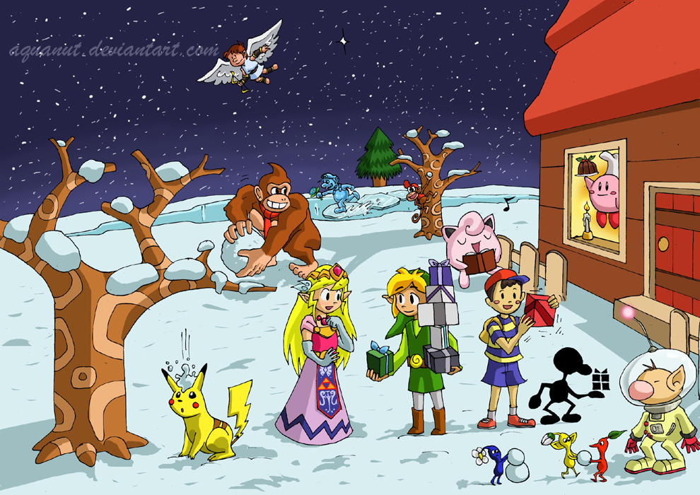 Nintendo Christmas.Editorial Merry Christmas And Happy Holidays From Nintendo