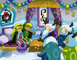 Merry Christmas Anouki Village by aquanut
