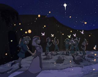 Merry Christmas, Kokiri Forest by aquanut