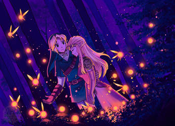 Like a Night in the Forest by aquanut