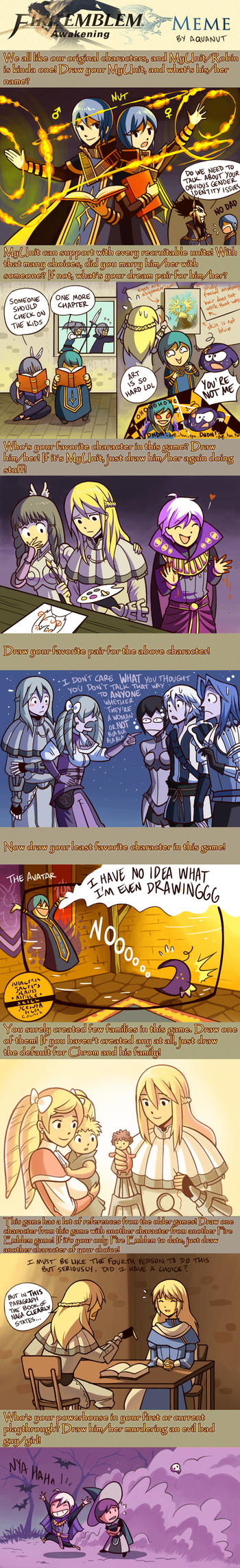 Fire Emblem Awakening Meme by aquanut