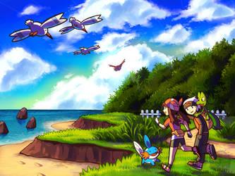 Pokemon - Route 104 by aquanut