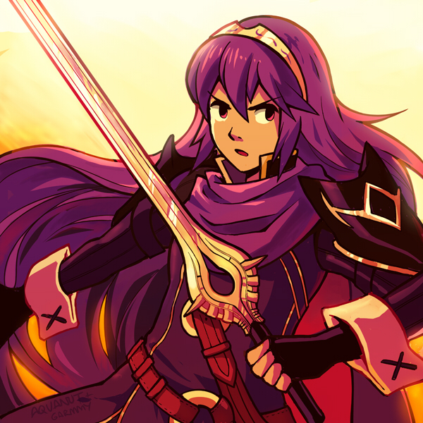 Lucina by aquanut on DeviantArt