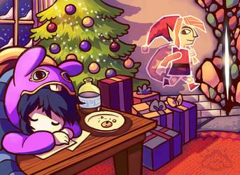 Merry Christmas, Lorule by aquanut