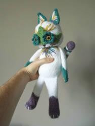 Louis Wain cat by MaffersToys