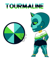 Tourmaline - Gem Adopt - CLOSED by Chobutt