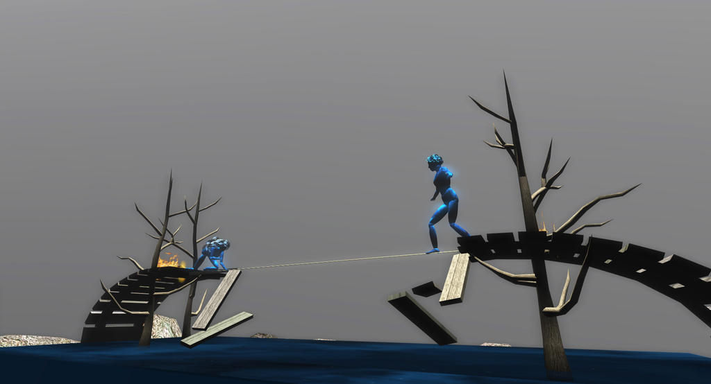 ICE projects Teal freenote Passage by InWorldzArtBlog