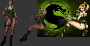 Sonya - a 3D attempt at BrunoCotic's revamp