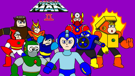 Mega Man 2 Title Screen by FreeNintendo21