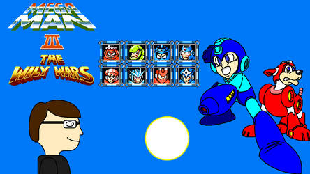 Mega Man 3 The Wily Wars Title Screen by FreeNintendo21