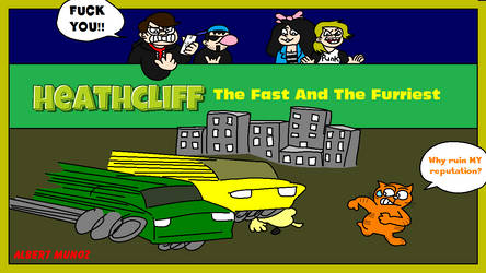Heathcliff The Fast and The Furriest Title Screen by FreeNintendo21