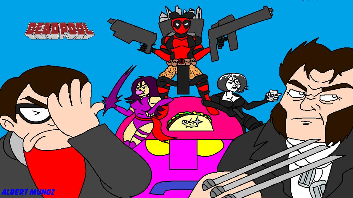 NEW Deadpool Title Screen by FreeNintendo21