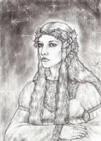 Galadriel The Lady of Lorien by lomehir