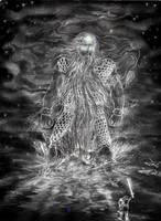 Ulmo appears to Tuor by lomehir