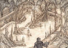 Aglarond - Glittering Caves by lomehir