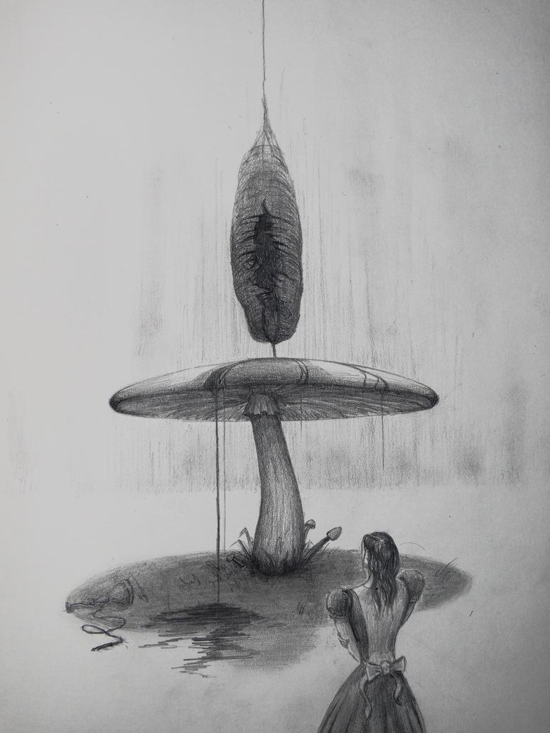Caterpillar is dead by PhanThom-art