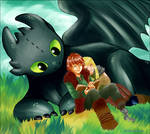 HTTYD - Lazy afternoon.
