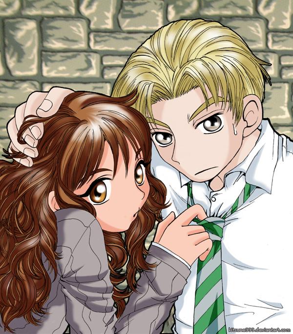 :..Draco+Hermione..: by kitsune999