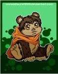+Chibi Ewok - Commission 1+ by kitsune999
