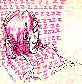 Sketchbook: Sleeping student by flunkmaster