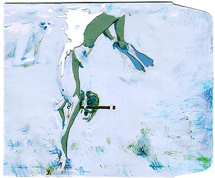 Diver cd envelope by flunkmaster