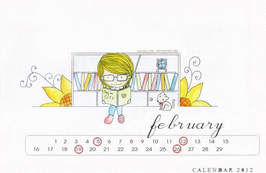 heechul calendar 2012 by shineunki
