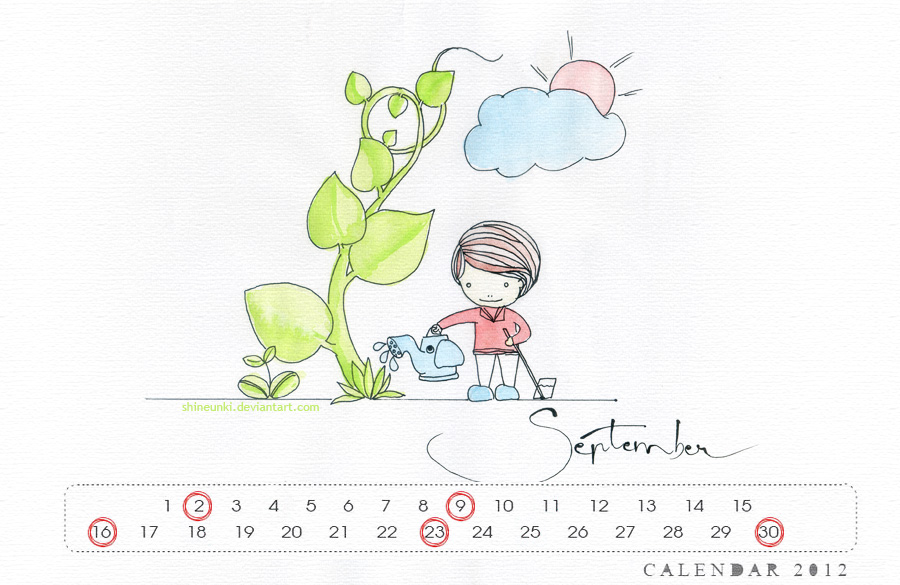 ryeowook calendar 2012 by shineunki
