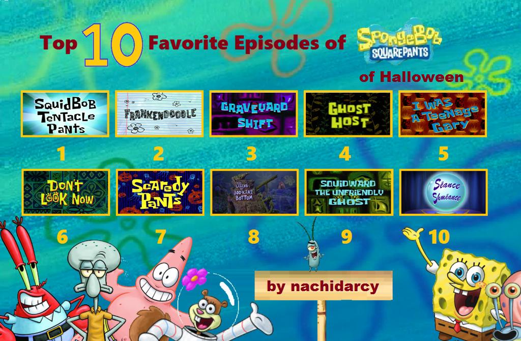Top 10 Favorite Spongebob Episodes Of Halloween by nachidarcy on ...