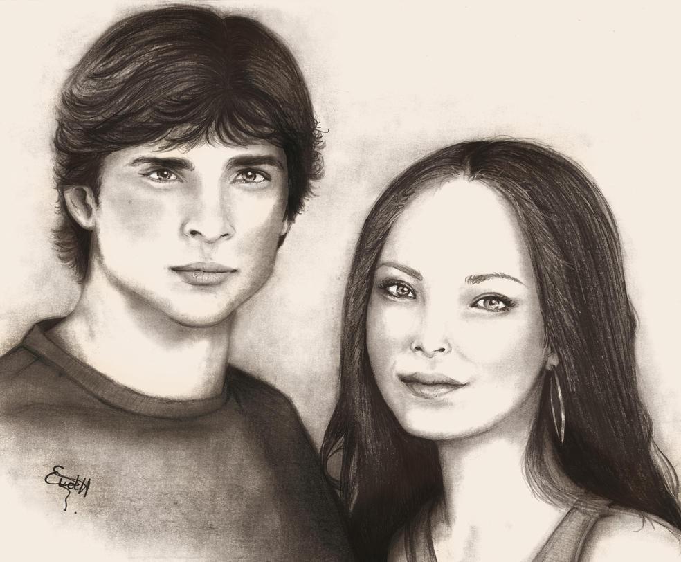 Clark and Lana by chocopeanutt