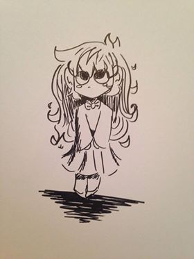ink doodle by zoozybeencloned