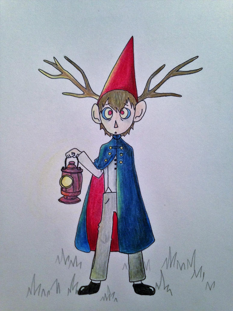 over the garden wall beast Wirt WIP by zoozybeencloned