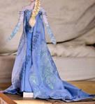 wip - snow queen elsa dress.