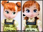 repainted ooak animators anna doll.