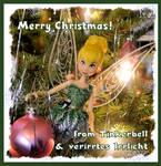Tinkerbell wishes a Merry Christmas! by verirrtesIrrlicht