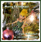 Tinkerbell wishes a Merry Christmas! by verirrtesIrrlicht