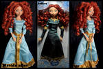 repainted ooak merida doll.