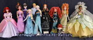 #colorspectrum of a couple of our dollies.