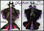 repainted ooak maleficent doll.