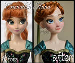 repainted ooak limited edition coronation anna.