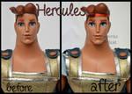 repainted ooak hercules doll.