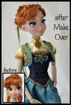 repainted ooak limited edition anna doll.