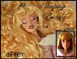 repainted ooak sleeping beauty doll. by verirrtesIrrlicht
