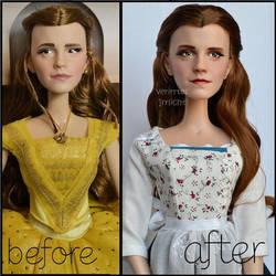 repainted ooak limited edition emma watson doll. by verirrtesIrrlicht