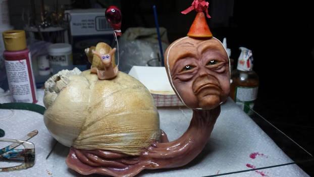 Brian's Birthday Polymer Clay Sculpture